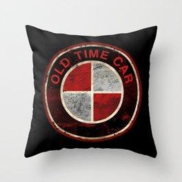 Old Time Car Deutsch Throw Pillow