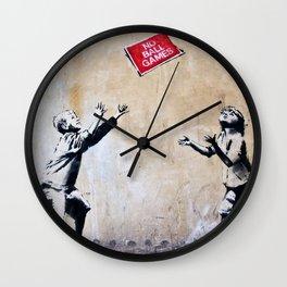 Banksy, Ball Games Wall Clock
