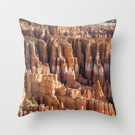 Amphitheatre Panorama Throw Pillow