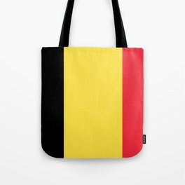 Flag of Belgium Black Yellow Red Tote Bag