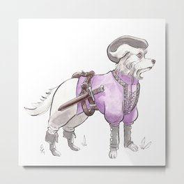 DogDays19 Falcor Metal Print