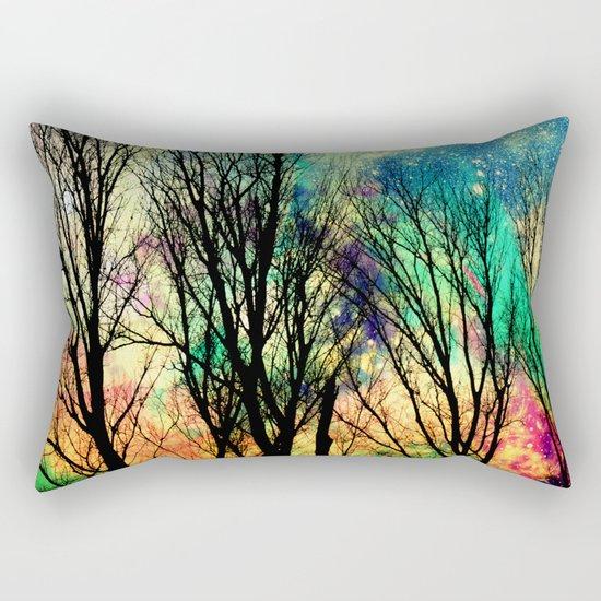 crazy sky Rectangular Pillow