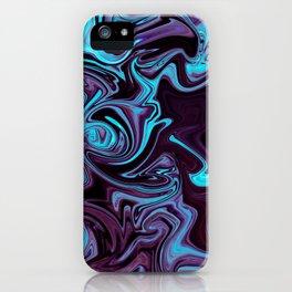 "ABSTRACT LIQUIDS XXXV ""35"" iPhone Case"