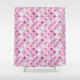 Circles Mix Shower Curtain