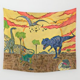 Prehistoric Wall Tapestry