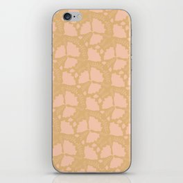 Golden papillon iPhone Skin