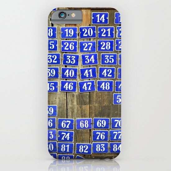 Numbers iPhone & iPod Case