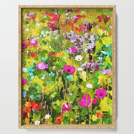 Meadow Flowers Serving Tray