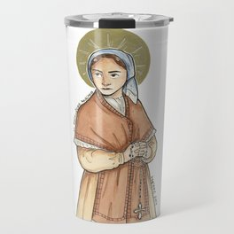 Saint Bernadette of Lourdes Travel Mug