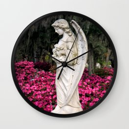 Sad Azalea  Wall Clock
