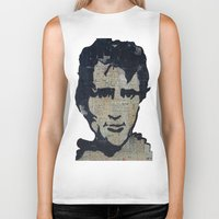 kerouac Biker Tanks featuring Jack Kerouac: Get On The Beat  by Emily Storvold