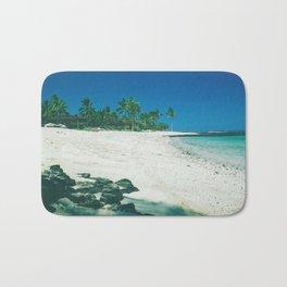 Hawaiian beach on Big Island Bath Mat
