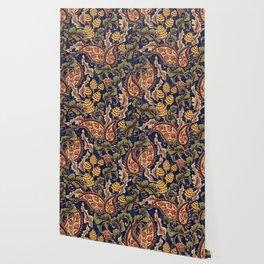 Beautiful Victorian Vintage Floral Pattern Wallpaper