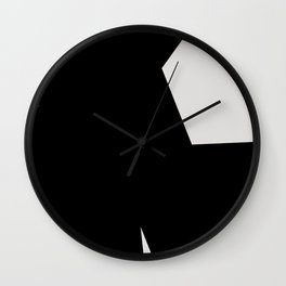 Abstract Form 03 Wall Clock