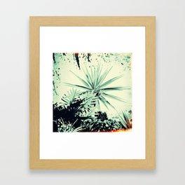 Abstract Urban Garden Framed Art Print