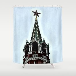 Kremlin Chimes-dramatic Shower Curtain