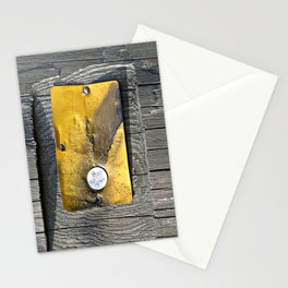 Gold Plate Stationery Cards