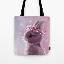 Fairy bunny Tote Bag