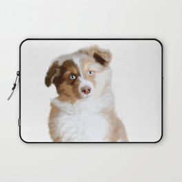Australian Sheperd Puppy Laptop Sleeve