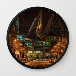 Justice has Landed Wall Clock