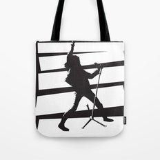Legendary Punk Frontman Tote Bag