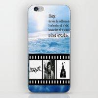 donnie darko iPhone & iPod Skins featuring Donnie Darko by Arianna Bears
