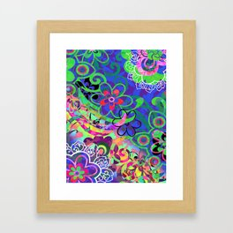 Time To Weed Framed Art Print
