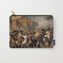 The Intercession of the Sabine Women Carry-All Pouch