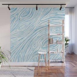 Freeing blue Wall Mural
