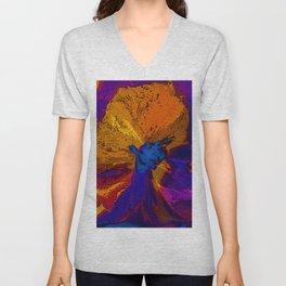 Volcano Goddess Unisex V-Neck