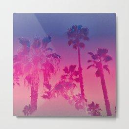 Vibrant Palm Metal Print