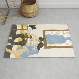 You and me and the music Rug