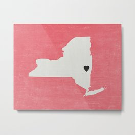New York Love Metal Print