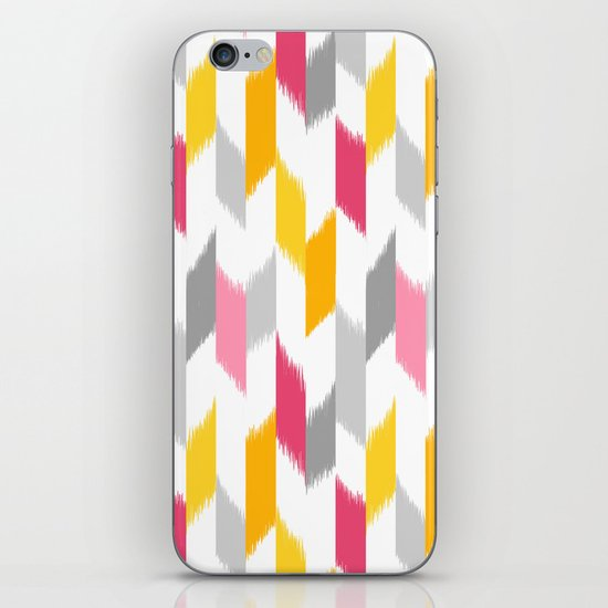 Ikat Stripes iPhone & iPod Skin