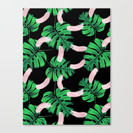 Moody Jungle Canvas Print