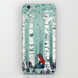The Birches iPhone Skin