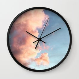 So Fluffy Wall Clock