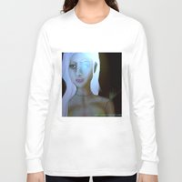 robot Long Sleeve T-shirts featuring Robot by Amy Bannister