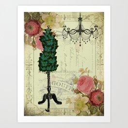 Tailored Butterflies Art Print