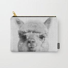 Alpaca headshot Carry-All Pouch