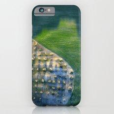 Aerial geometries. Green Slim Case iPhone 6s