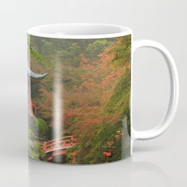Hidden Japanese Temple Coffee Mug