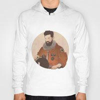 mandela Hoodies featuring Western Mandela by Lazy Trope