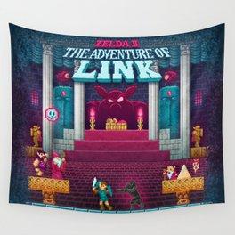 The Link Adventure of Zelda, too Wall Tapestry