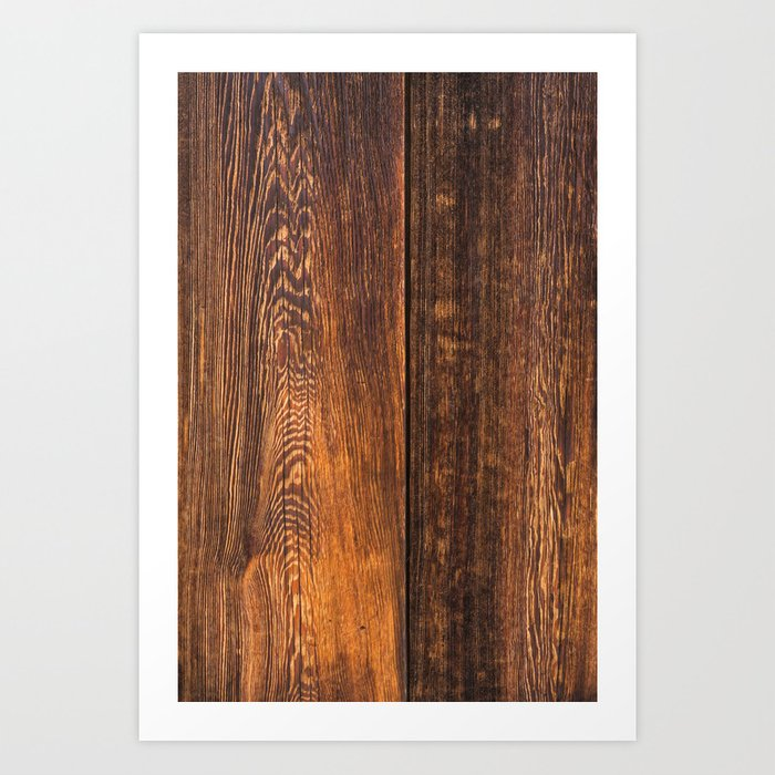 Old wood texture Kunstdrucke