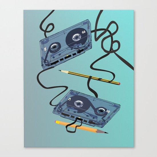 Rewind :) Canvas Print