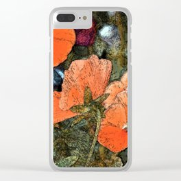 Pansy 10 Clear iPhone Case