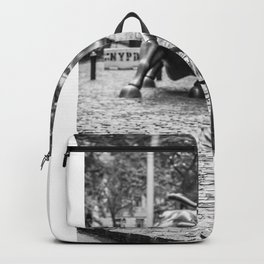 Fearless Girl Statue Wall Street Street Backpack