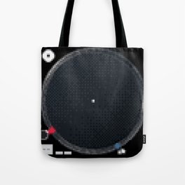 8 Bit Technics SL-1210MK5 Tote Bag