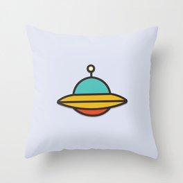 Baby UFO Throw Pillow